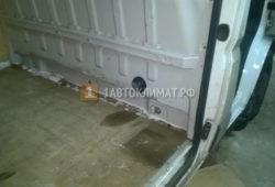 Установка отопителя Планар 2Д в фургон Фиат Дукато