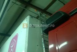 Установка отопителя Планар 8ДМ на фуру Mercedes для отопления фургона