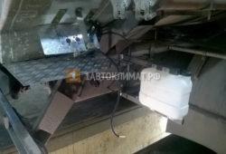 Установка автономного отопителя Планар 44Д на КАМАЗ