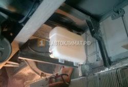 Установка отопителя Планар 44Д в фургон Iveco Daily