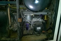 Установка автономного отопителя Планар 2Д на автобус МАЗ