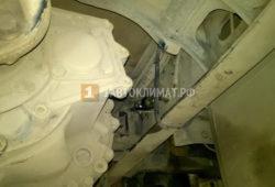 Установка воздушного отопителя Планар 4ДМ2 в кабину грузовика MAN TGA