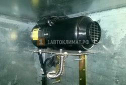 Установка отопителя Планар 4ДМ2 в фургон на Газель