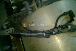Установка отопителя Планар 4ДМ2 в инструментальный ящик фуры Volvo