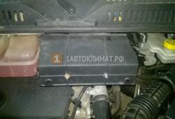 Установка предпускового подогревателя Webasto на Fiat Ducato