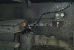 Установка отопителя Планар 44Д в фургон Hyundai HD 78