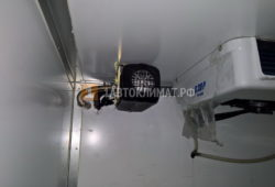 Установка отопителя Планар 44Д для обогрева фургона Peugeot Boxer