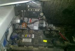 Установка автономного отопителя Планар 44Д в фургон Газель