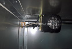 Установка автономного отопителя Планар 44Д-12 в будку Газели NEXT