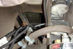 Установка отопителя Планар 44Д-12 в фургон Мерседес Спринтер