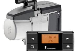 Предпусковой подогреватель Eberspacher HYDRONIC 3 B4E с базовым монтажным комплектом и органом управления EasyStart Timer