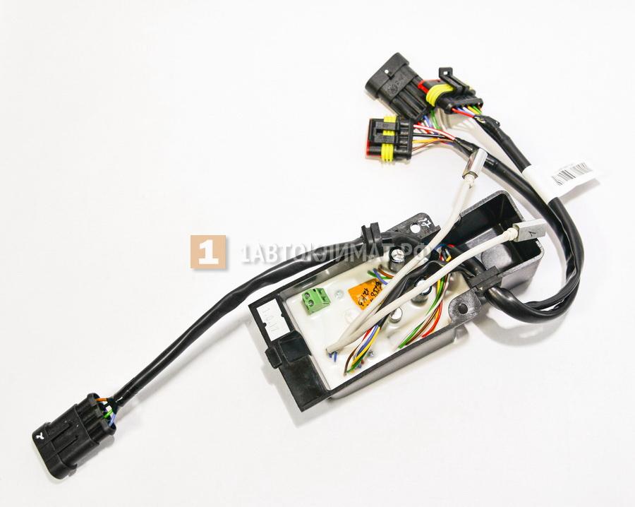 Блок управления (бензин 12 в с датчиками температуры в Al корпусе )