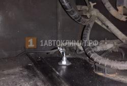 Монтаж воздушного отопителя Eberspacher AIRTRONIC D2 в кабину грузовика ISUZU