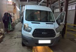 Установка воздушного отопителя Webasto Air Top 2000 STC на Ford Transit