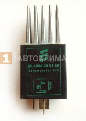 Реле-регулятор тока 24В (Ирокез, зеленый)