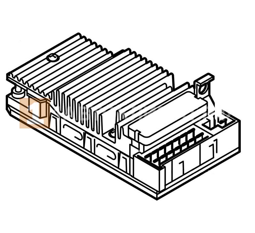 Блок управления D1 LC 12В