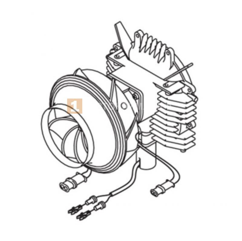 Привод вентилятора АТ5000 12В