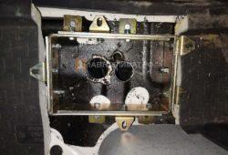 Установка воздушного отопителя Планар 4ДМ2-24 на самосвал Scania P440 в кабину