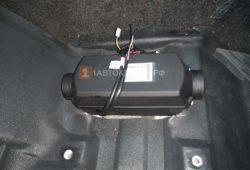 Установка воздушного отопителя ПЛАНАР 2Д-24 (2 кВт) на грузовик Hyundai HD120 в кабину