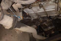 Установка воздушного отопителя ПЛАНАР 44Д-12-GP (4 кВт) на джип Land Rover в салон-будку