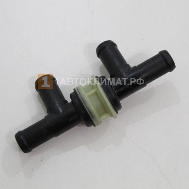 Клапан обратный с 4-мя патрубками (пластик)