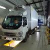 Установка воздушного отопителя ПЛАНАР 2Д-12 - 2 кВт в кабину грузовика Foton