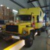 Установка внутри рамы предпускового подогревателя Теплостар 14ТС-10 24В МК на грузовик ГАЗ