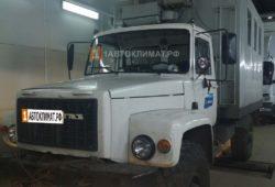 Установка отопителя ПЛАНАР 44Д-24-GP ( 4 кВт) в фургон грузовика ГаЗ