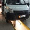 Установка воздушного отопителя ПЛАНАР 44Д-12-GP ( 4 кВт) в салон микроавтобуса ГАЗель