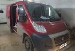 Установка отопителя Планар 44Д-12-GP в кабину фургона FIAT DUCATO