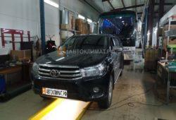 Установка предпускового подогревателя Бинар 5S DIESEL на Toyota Hilux