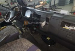 Размещение воздушного отопителя ПЛАНАР 2Д под торпедой