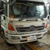 Установка в кабину японского грузовика HINO 500 воздушного отопителя ПЛАНАР 2Д-12 (2 кВт)