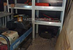 Размещение воздушного отопителя в грузовом отсеке микроавтобуса