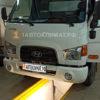 Установка жидкостного подогревателя Теплостар 14ТС-10 24В МК на изотермический фургон Hyundai HD 120