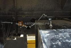 Подключение воздушного отопителя к баку грузовика