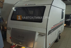 Установка отопления в автодом прицеп планар 4кв 12в