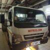 Установка в салон среднетоннажного грузовика Mitsubishi Fuso CANTER воздушного отопителя ПЛАНАР 4ДМ2-24 ( 3 кВт)