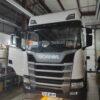 Установка в кабину тягача Scania R440LA автономного воздушного отопителя ПЛАНАР 4ДМ2-24 ( 3 кВт)