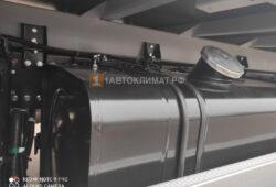 Подключение отопителя к баку грузовика