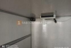 Установка воздушного отопителя ПЛАНАР 44Д-24-GP ( 4 кВт) в малотоннажнный фургон Nissan Cabstar
