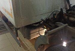 Размещение топливного насоса отопителя