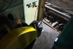 Размещение пульта управления и отопителя в фургоне