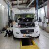 Установка отопления в автодом Peugeot Boxer планар 4кв 12в на ПТО ПУЛЬСАН