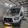 Установка автономного воздушного отопителя ПЛАНАР 2Д-12 (2 кВт) в кабину грузового Ford Transit Van