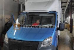 Установка в будку промтоварного фургона Газель Next воздушного отопителя ПЛАНАР 44Д-12-GP (4 кВт) на ПТО ПУЛЬСАН