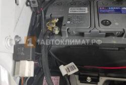 Подключение отопителя к аккумулятору автомобиля