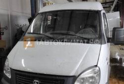 Установка в кабину 7-ми местного цельнометаллического фургона Соболь воздушного отопителя ПЛАНАР 44Д-12-GP (4 кВт)