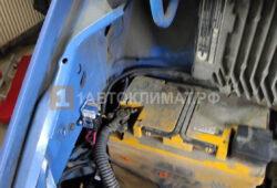 Подключение предпускового подогревателя к аккумулятору газели