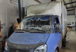 Установка на изотермический фургон ГАЗель Next предпусковго подогревателя БИНАР-5S